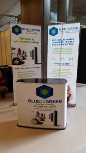 Stand BLUE2BGREEN salon EVER de Monaco en 2015