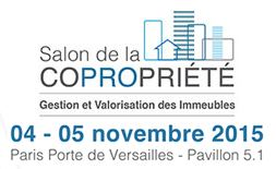 Salon de la copropriete paris les 4 et 5 novenbre 2015 for Salon porte de versailles hall 4