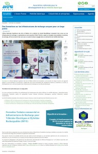 Soutien des formations BLUE2BGREEN - ARTS et METIERS - AVERE France