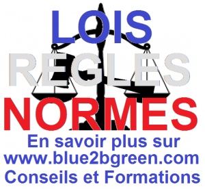 lois-regles-normes-informations-conseils-formations-blue2bgreen