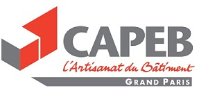 Logo CAPEB Grand PAris - Patite Couronne - BLUE2BGREEN